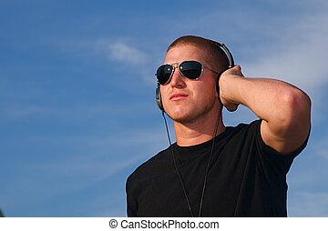 hörlurar, musik