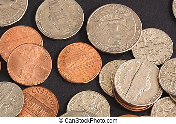 cents and dimes