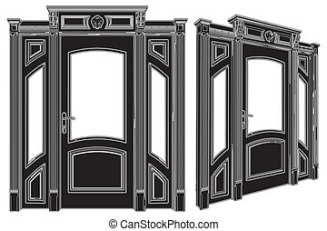 Elegance Door - Door Vector