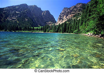 Phelps Lake - Grand Tetons - A beautiful day at Phelps Lake...