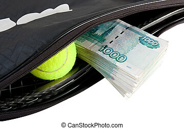 Tennis - expensive sport. - Tennis - a very expensive sport.