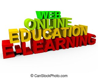E-Learning - Online Learning Concept