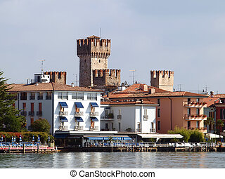 Scaligers castle in Sirmione - Scaligers castle in Sirmione,...