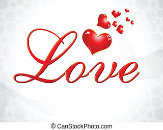 abstract love wallpaper vector illustration