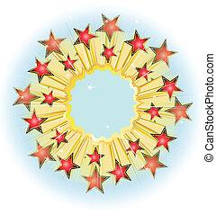 Star explode