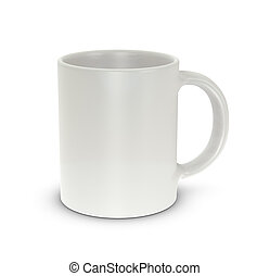 Mug cup - One mug cup with blank space for general purpose