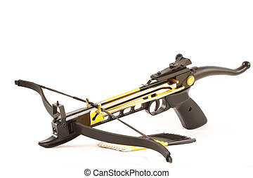 crossbow - Crossbow isolated on white background