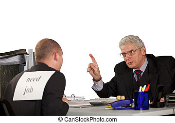 manager rejecting applicant