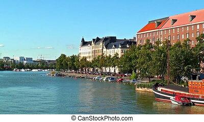 Cityscape of Helsinki, Finland