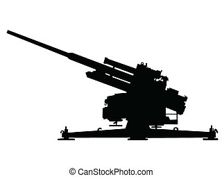 WW2 - Anti Aircraft Gun - WW2 Series - German 105-cm Flak 38...
