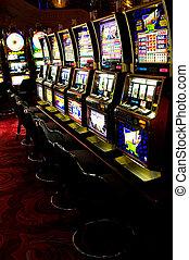 Ranura, Máquinas, Las, Vegas, Nevada