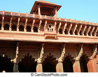 Fort Agra in North India