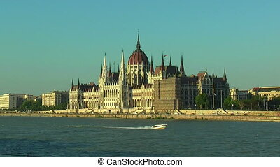 Parliament Hall in Budapest, Hungary