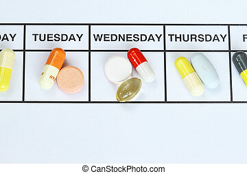 Daily Dose  - the daily dose of medicine on a daily basis.