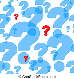 Abstract background with question marks - Abstract...