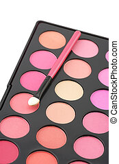 Blushes palette and applicator