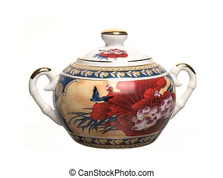 China sugar bowl