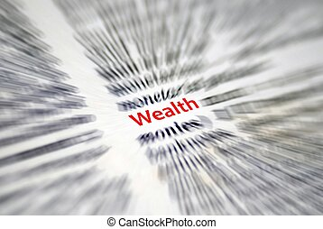 wealth - This is a image of text from book.