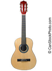 Classical acoustic guitar.