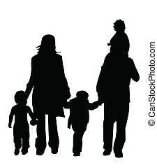 silhouette, figure family