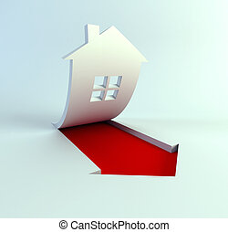 real estate are rise in price