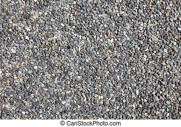 Aggregate stones as textured background.