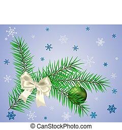 Bow on fir
