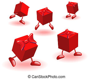 Boxs with bows