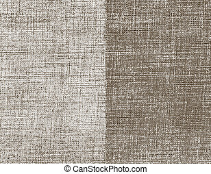 Canvas background Grunge Texture Vector Illustration