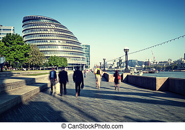 London City Hall - toned images of London City Hall