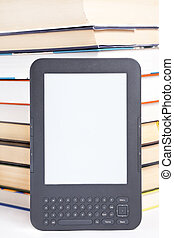 electronic reader of books