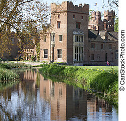 Medieval English country house, Norfolk