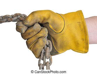 Workmans glove