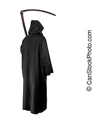 Grim Reaper - Image of Grim Reaper on white background