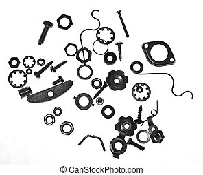 Nuts, bolts and screws