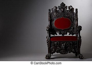 throne - beautiful massiv throne