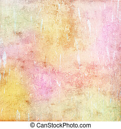 grunge background, colorful pastel texture - grunge...