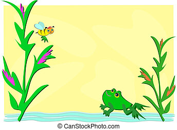 Frog and Bee Pond