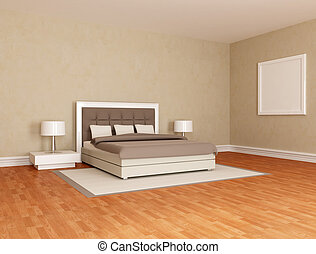 essential brown  bedroom