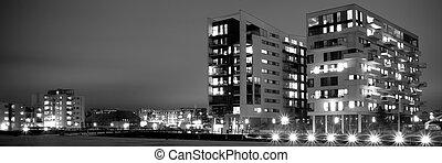 Modern residential buildings - Modern residential buildings...