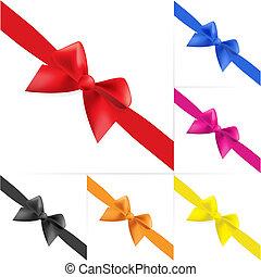 Set of celebratory bows #4