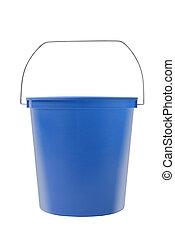 azul, balde