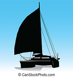 Navegación, Catamarán