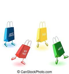 Dancing bags