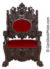 throne - beautiful antique throne