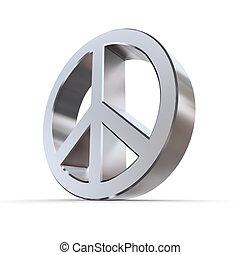 Shiny Peace Symbol
