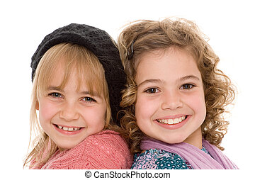 children - two beautiful children