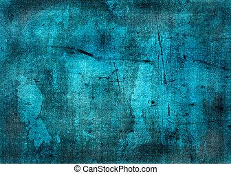azul, grunge, textura, -, perfeitos, fundo, espaço,...