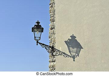 Streetlamp at the corner