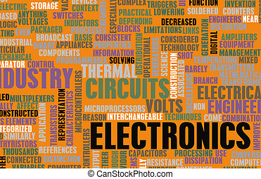 Electronics Industry and Other Business Terms Art
